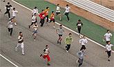 Fiesta del deporte escolar en el Circuito de Velocidad de Cartagena