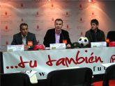 El casting de fútbol 'Tú también puedes!' elegirá en Murcia a las jóvenes promesas de este deporte