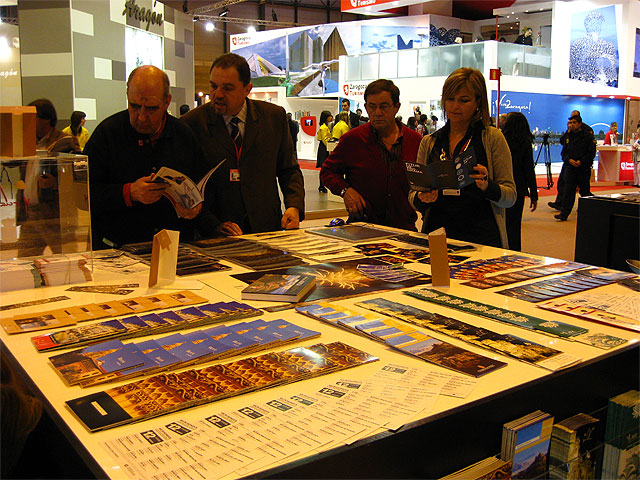 Turismo propociona Murcia en FITUR con 4.000 kilos de material - 2, Foto 2