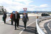 Obras Públicas elimina un Tramo de Concentración de Accidentes con una nueva rotonda en la intersección de la pedanía cartagenera de La Guía