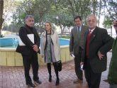 Los vecinos de Churra ya disfrutan de un nuevo espacio verde junto al Centro Social de Mayores