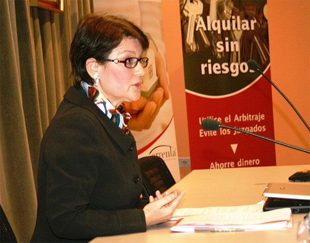 La directora del Instituto de Vivienda y Suelo inaugura en Murcia la 'Jornada inmobiliaria para el fomento del alquiler' - 1, Foto 1