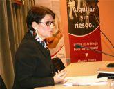 La directora del Instituto de Vivienda y Suelo inaugura en Murcia la 'Jornada inmobiliaria para el fomento del alquiler'