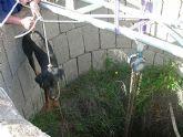 El CATAD rescata dos perros con vida de un pozo minero en El Gorguel