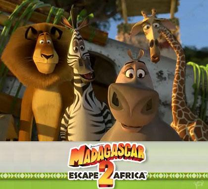 "Film ""Madagascar, Escape 2 Africa"""