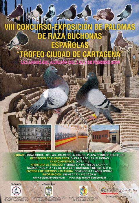 VIII Campeonato-exposición de palomas de raza Ciudad de Cartagena - 1, Foto 1