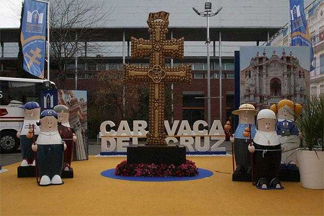 Los Peregrinicos del Año Santo 2010 de Caravaca reciben a miles de visitantes en Fitur - 2, Foto 2
