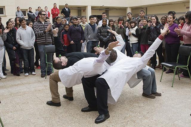 El instituto 'Maestro Antonio Hellín' celebra Santo Tomás de Aquino, Foto 1