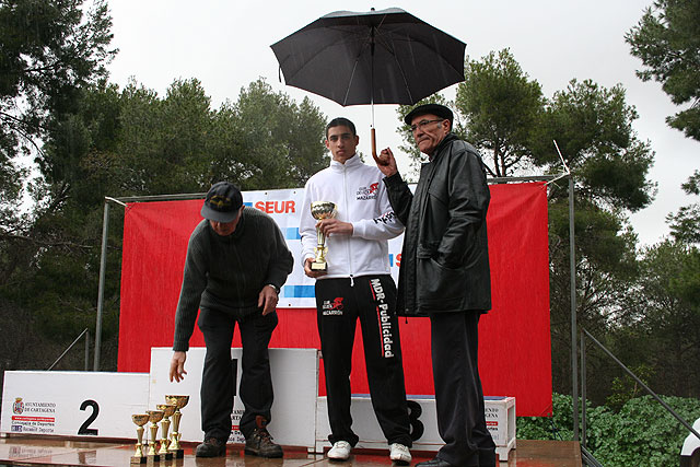Cuatro ciclistas mazarroneros participan en la primera carrera de la Interclub, Foto 1