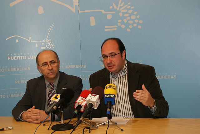El alcalde de Puerto Lumbreras anuncia un segundo Pacto Local para la educación - 1, Foto 1