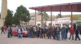 Vecinos del Barrio del Carmen exigen en la calle un cambio de emplazamiento de la futura depuradora.