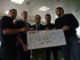 El ciclo de la segunda edición de Radio Solidaria se cierra tras proceder a la entrega de un cheque simbólico por valor de 8.200 euros