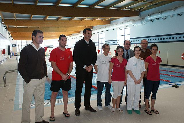 El Alcalde de Puerto Lumbreras y el Director General de Deporte visitan las instalaciones y obras del Plan Municipal de Instalaciones Deportivas - 1, Foto 1
