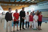 El Alcalde de Puerto Lumbreras y el Director General de Deporte visitan las instalaciones y obras del Plan Municipal de Instalaciones Deportivas