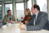 Pedro Antonio Sánchez planifica la aplicación del Proyecto Leonardo en Puerto Lumbreras a través de una reunión con Pavol Krempasky en Bruselas