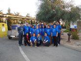 Voluntarios del municipio empaquetan 40 cajas de material para el Proyecto Libro
