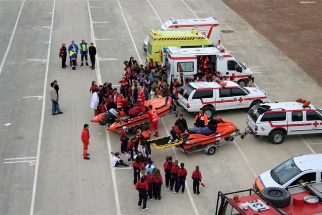 Los servicios de emergencias de Mazarrón actúan en 9.390 ocasiones en 2008, Foto 1