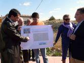 El Ayuntamiento de Molina de Segura construirá una pista polideportiva en el terrero donde AFESMO levantará su centro de día