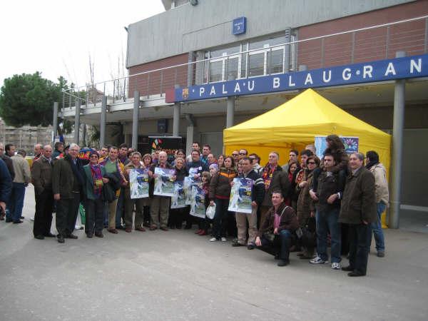 El Barcelonismo mostró su apoyo a las Enfermedades Raras - 1, Foto 1