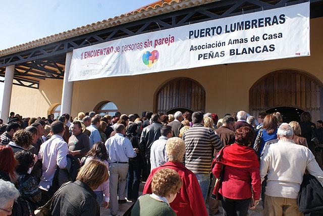 Más de 1.000 asistentes en el I Encuentro regional de personas sin pareja celebrado en Puerto Lumbreras - 5, Foto 5