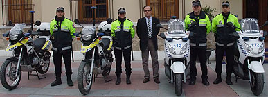 La Policía Local de Santomera prestará una mayor cobertura a las zonas peatonales del casco histórico, centros educativos y extrarradio del municipio gracias a la incorporación de tres nuevos vehículos