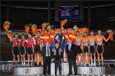El ciclista David Calatayud tras proclamarse Campeón de España con la selección murciana en Palma de Mallorca ha fichado por el Contémpolis
