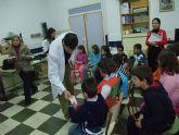 Los escolares de Santomera han participado en las 'Jornadas de la Higiene Bucodental' organizadas por la concejalía de Educación y Cultura