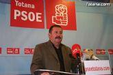 """Andrés García: """"todos los grupos políticos de Totana estamos obligados a defender el trasvase del Tajo"""""""