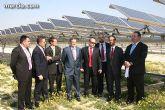 Marín resalta la apuesta del Gobierno murciano por el sector de las energías renovables como generador de inversiones y empleo de calidad