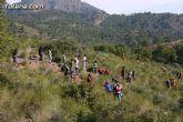 Alrededor de 200 personas participan en la reforestación de una hectárea en el paraje de la Virgen Blanca, en el entorno de La Santa