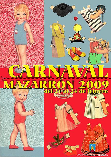 El centro de mayores se viste de carnaval, Foto 1
