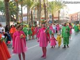Once centros educativos de Totana participarán mañana en el Carnaval Infantil que partirá a las cuatro y media de la tarde desde el recinto ferial