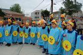 """Más de 480 niños del Monte Anaor celebran el Carnaval bajo el lema """"recicla"""""""