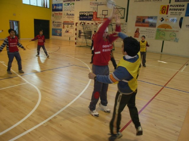 The Department of Sports organized a day of Handball Alevín