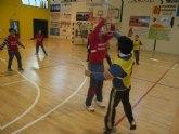 La concejalía de Deportes organizó una jornada de Balonmano Alevín