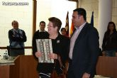 La corporación municipal realiza un reconocimiento público a un total de doce trabajadores del ayuntamiento de Totana, durante la sesión plenaria