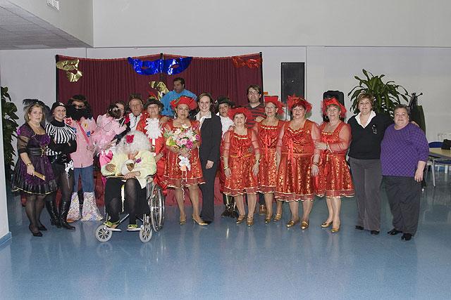 Los mayores de Mazarrón muestran su pasión por el carnaval, Foto 1