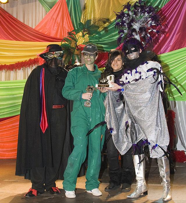 Los mazarroneros despiden el Carnaval 2009, Foto 1
