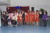 Los mayores de Mazarrón muestran su pasión por el carnaval