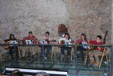 """Los alumnos del """"Taller de M�sicos Sonata"""" actuaron en el Museo Arqueol�gico de los Baños"""