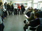 Varios estudiantes del Modulo Superior de Integraci�n Social de Lorca visitan el Centro de Estancias Diurnas de la localidad