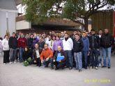 """Visita al """"X Salón del Estudiante 2009""""  en Lorca por parte de los alumnos de la Escuela Taller """"Casa de las Monjas I"""""""