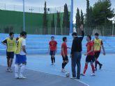Los equipos escolares de Totana se desplazaron a Águilas