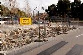 El domingo se reordena el tráfico en la Plaza de España por las obras del parking subterráneo