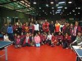 El colegio Cuatro Santos, protagonista del programa ADE con el tenis de mesa