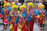 Éxito de participación y público en el único desfile de Carnaval en Archena