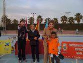 """Unos 200 alumnos de 7 colegios de la comarca han participado en el V Campeonato Mixto Fusión organizado por la asociación """"Sakiais ken Dikela""""en San Javier"""