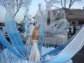 Santiago de la Ribera despidió ayer sus fiestas de Carnaval con el mayor desfile de su historia