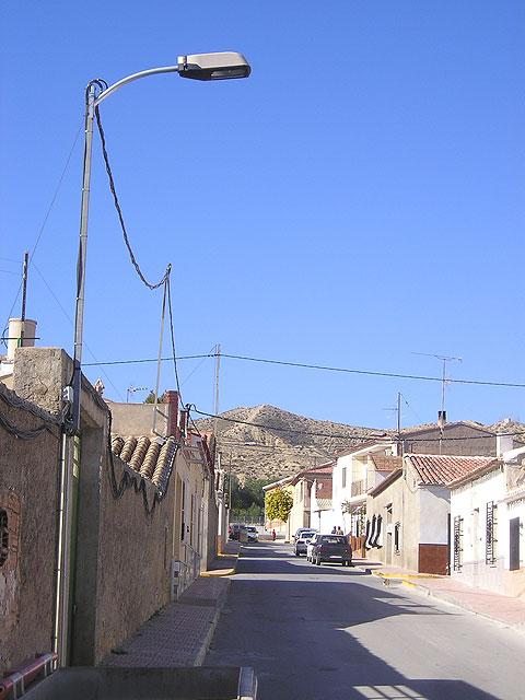 El Ayuntamiento de Puerto Lumbreras destina cerca de 135.000 euros a alumbrado público rural - 1, Foto 1