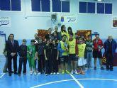 El deporte escolar totanero consigue siete títulos de campeón regional en la Final Regional Escolar de Bádminton celebrada en Las Torres de Cotillas
